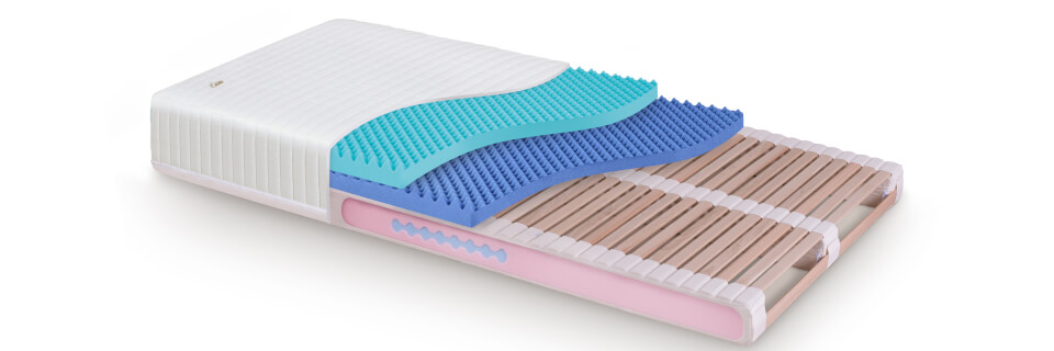 Ortopedické lamelové matrace
