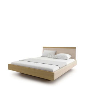 Bed AMANTA double bed without shelves