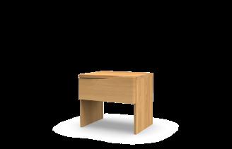 Noční stolek ELEN - jednozásuvkový