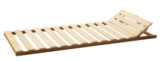 Positioning bed frame - head