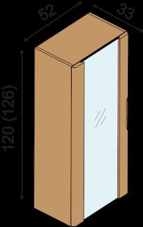 Bookcase FLABO FKS1