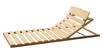 Positioning bed frame - head and sitting