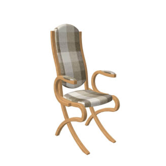 Chair ABRA EXTRA with hand rest