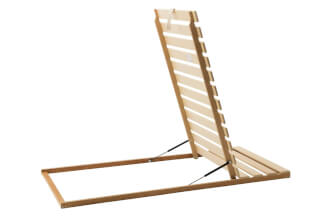 Tilting bed base MAX, from legs