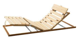 Positioning bed frame - comprehensive relaxation, manual