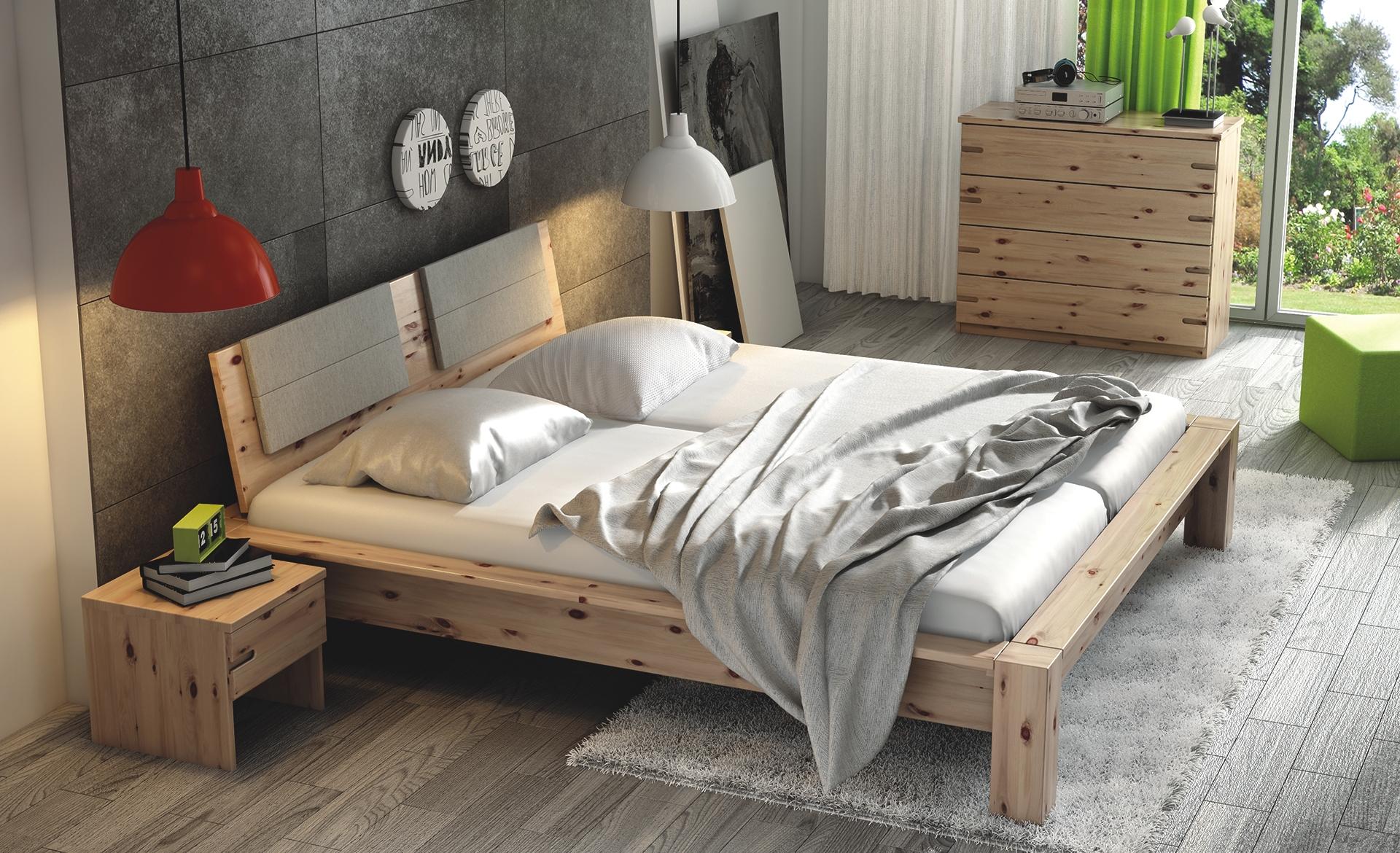 Spálňa z dreva ZIRBE