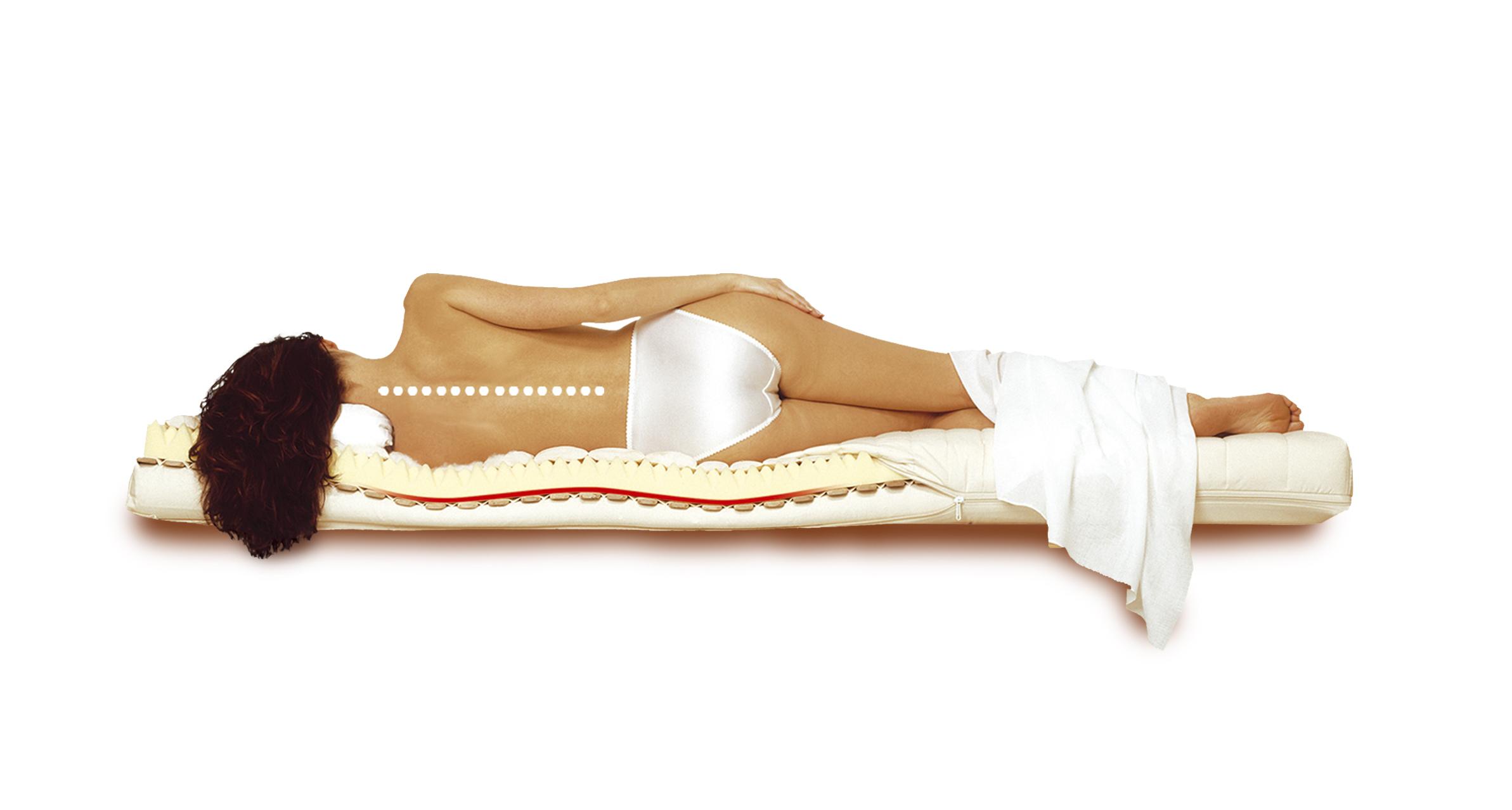 Pohodlný spánek bez bolesti zad