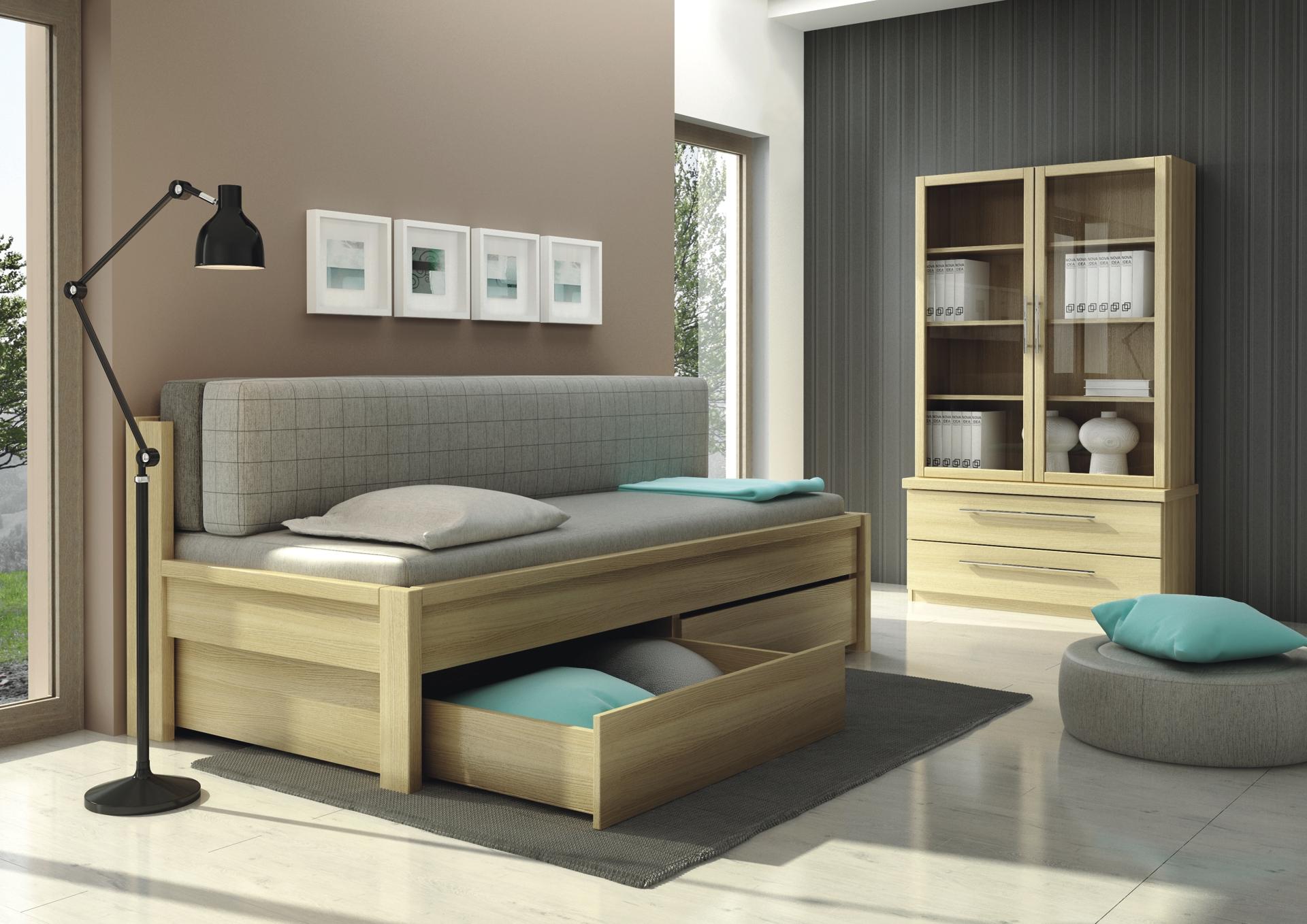 Rozkládací postel DIANA – ideální nejen do malého bytu