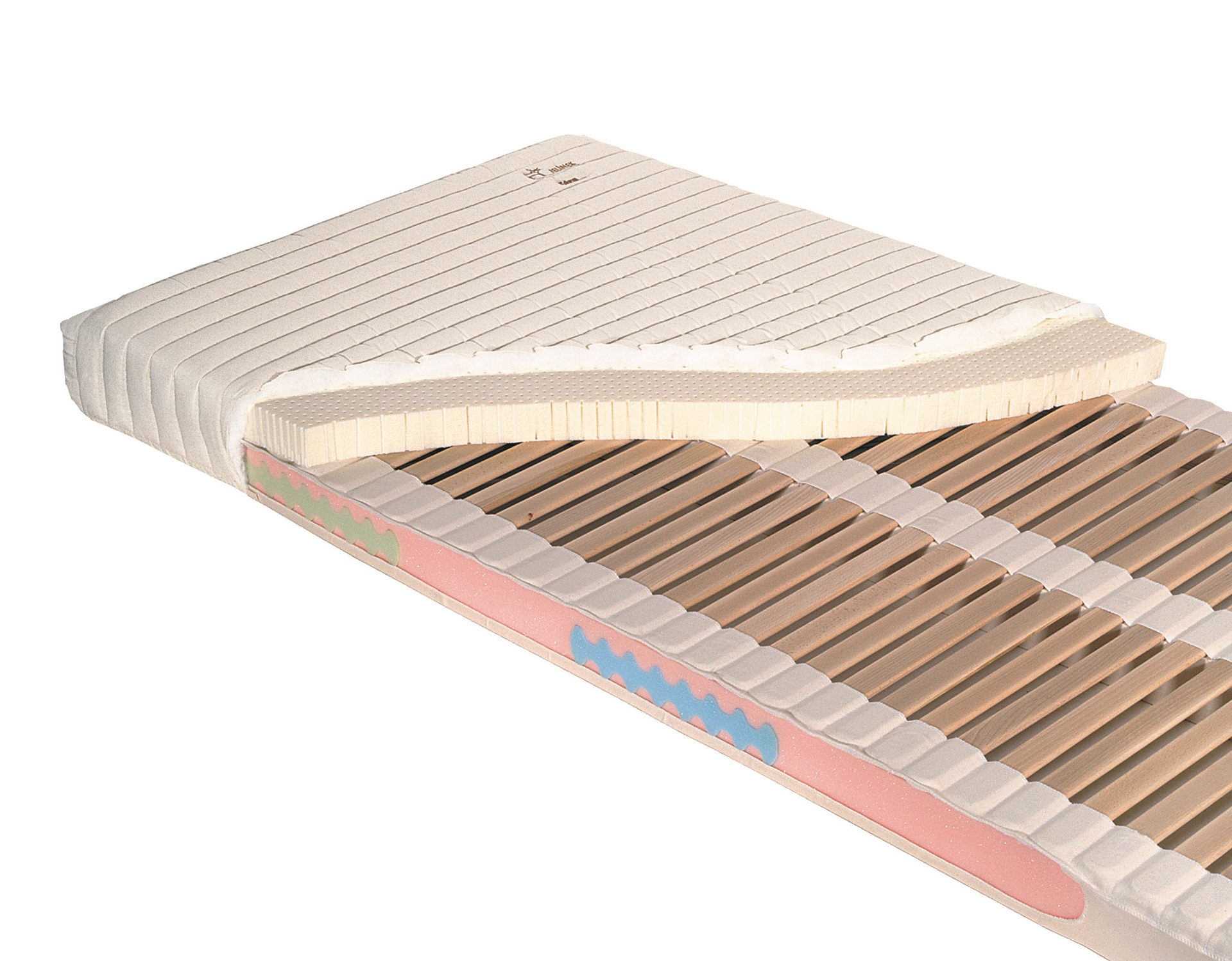 Orthopedic slatted mattress SARA classic now available for next day!