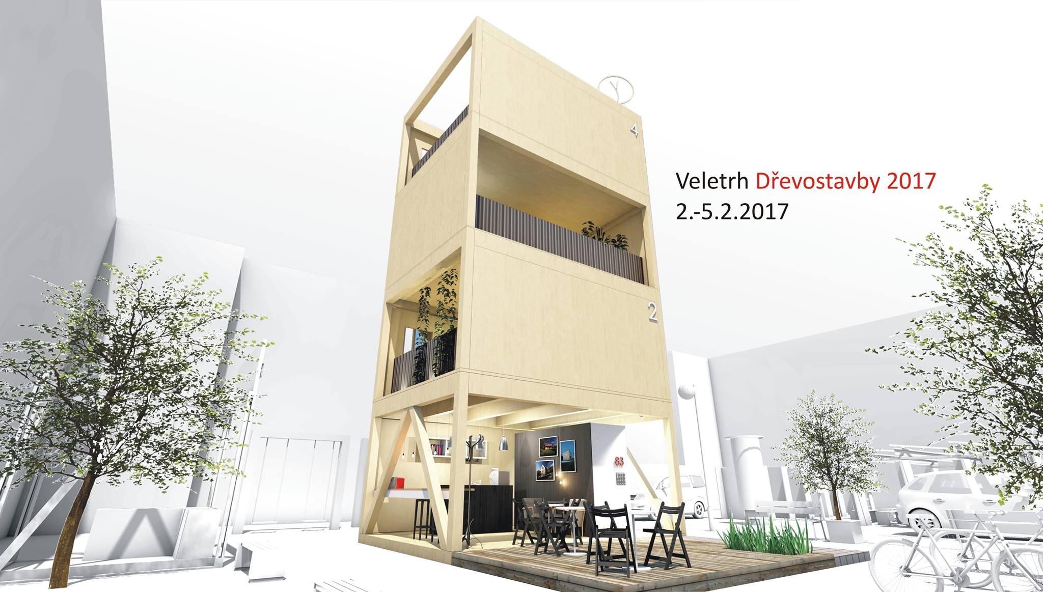 Jsme součástí unikátního projektu v rámci veletrhu Dřevostavby 2017