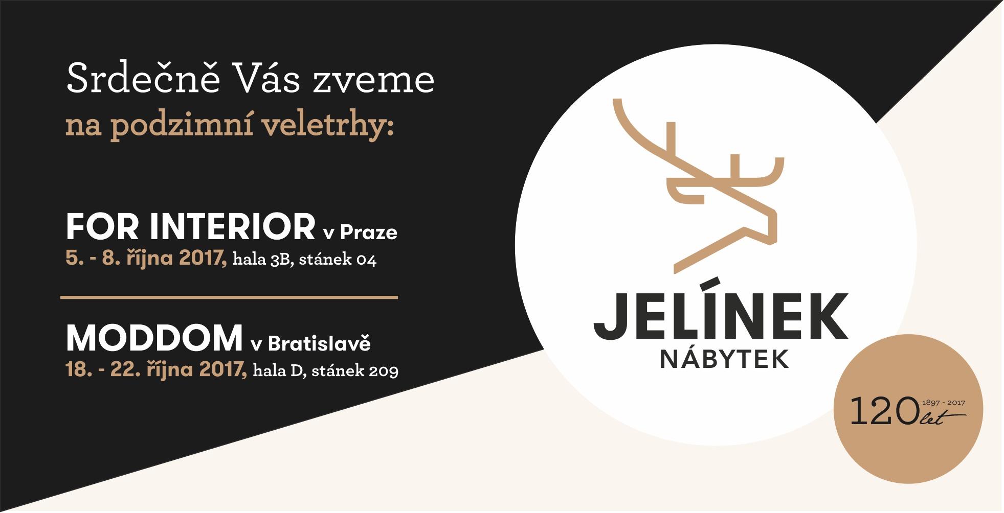 Navštivte nás na podzimních veletrzích v Praze a Bratislavě