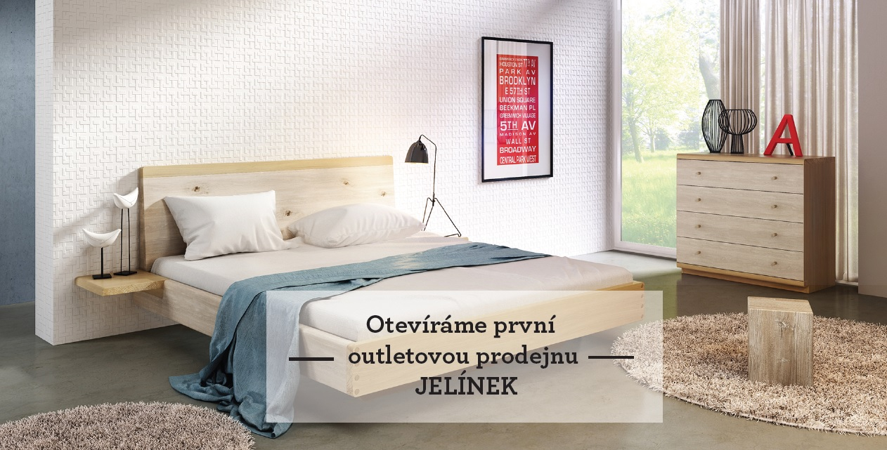 The first OUTLET store JELÍNEK in Prague