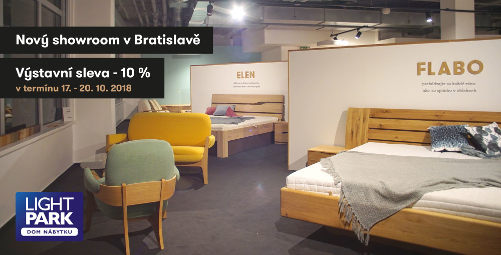 Nový showroom v Bratislave