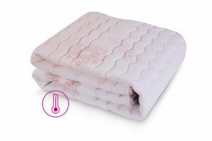 Warmer mattress protector - warming effect