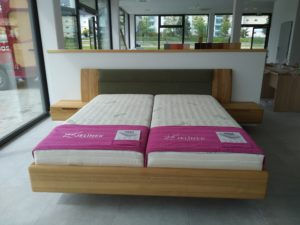 FLABO bed made of solid wood from the JELÍNEK company