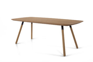 SAM solid wood table
